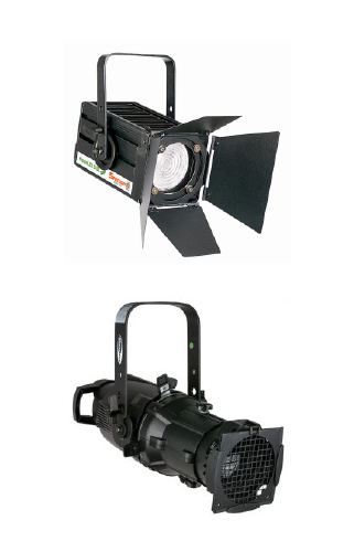 Pc, fresnel, sagomatori, etc, seguipersona